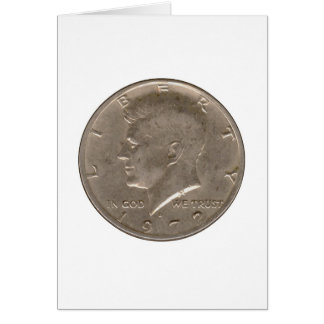 Kennedy Coin Card