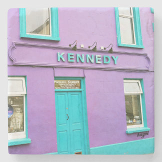 Kennedy, Dingle, Pubs, Irish, Coasters. Ireland Stone Coaster