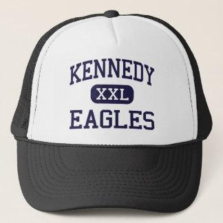 Kennedy - Eagles - High - Waterbury Connecticut Trucker Hat