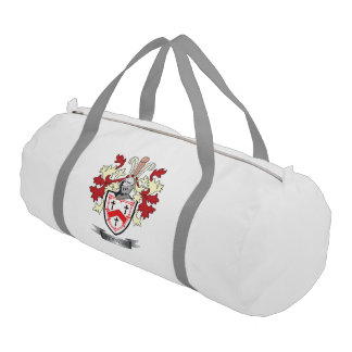 Kennedy Family Crest Coat of Arms Gym Bag