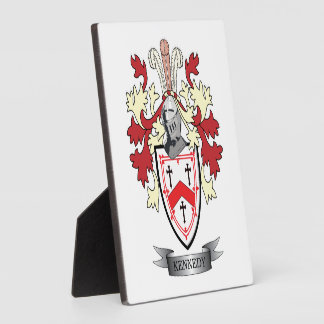 Kennedy Family Crest Coat of Arms Photo Plaques