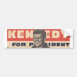 Kennedy for Presdient Bumper Sticker