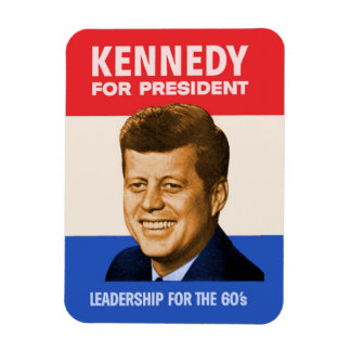 Kennedy For President Rectangular Photo Magnet