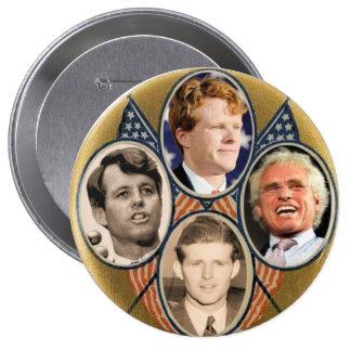 Kennedy Generations 4 Inch Round Button