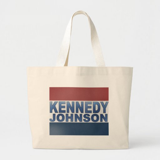 Kennedy Johnson Campaign Canvas Bags