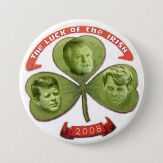 Kennedy Luck o' the Irish Button