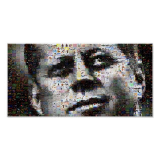 Kennedy Mosaic Poster