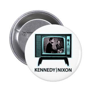 Kennedy Nixon Debate 1960 2 Inch Round Button