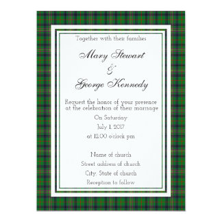Kennedy Scottish Wedding Invitation