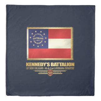 Kennedy's Battalion of New Orleans Duvet Cover