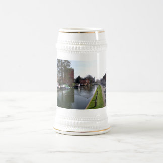 Kennet and Avon canal in Newbury 18 Oz Beer Stein
