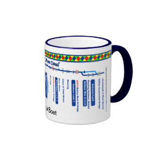 Kennet and Avon Canal Route Map (1 of 4) Mugs