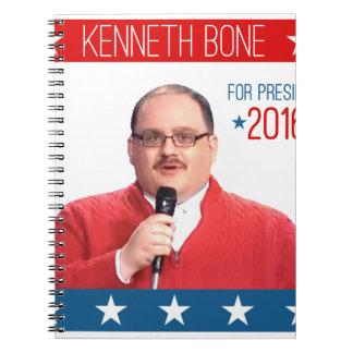 kenneth-bone-for-president notebooks