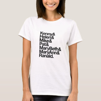 Kenny&Helen&Mike&Pat&MB&MA&Ranald. (Women's White) T-Shirt