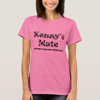 Kenny's Mate Black Vintage Rose T-Shirt