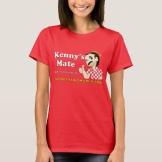 Kenny's Mate Red Tee-Shirt T-Shirt