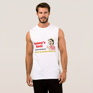Kenny's Mate Sarcoma Research Support Muscle Sleeveless Shirt