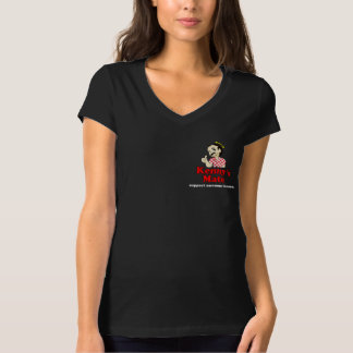Kenny's Mate Sarcoma Research Support V-Neck T-Shirt