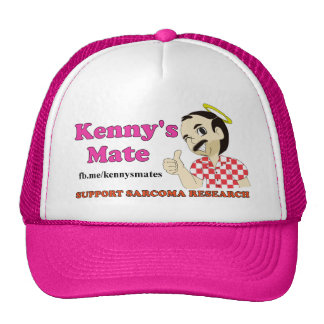 Kenny's Mate Sarcoma Research Trucker Cap Trucker Hat