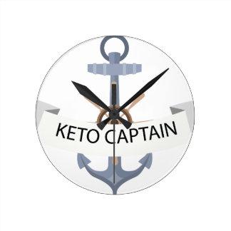 keno anchor wall clock