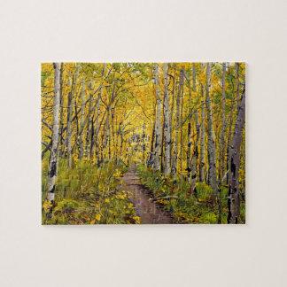 Kenosha to Breckenridge Trail Oil Painting Puzzle