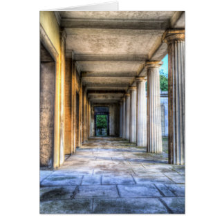Kensal Green Cemetery Colonnade Card
