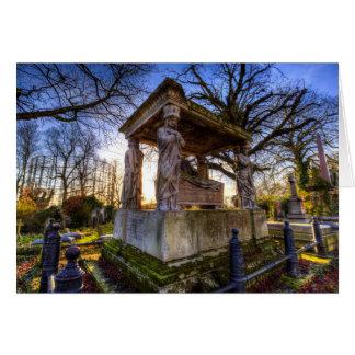 Kensal Green Cemetery London Card
