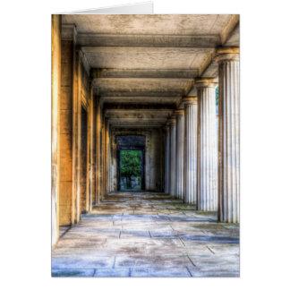 Kensal Green Cemetery London Colonnade Card