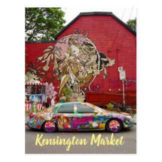 Kensington Market Toronto Canada Postcard
