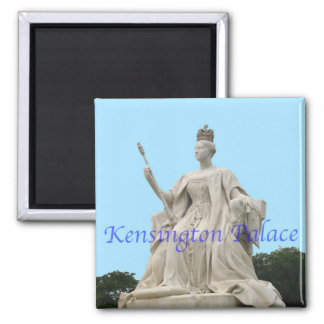 Kensington Palace's Queen Victoria Statue Square Magnet