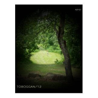 Kensington Toboggan #12 Postcard