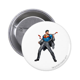 Kent changes into Superman 2 Inch Round Button