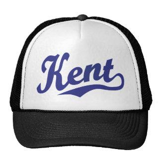 Kent script logo in blue trucker hat
