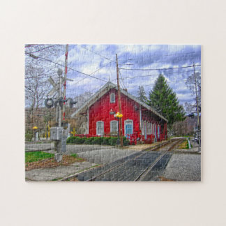 Kent  Station Connecticut. Jigsaw Puzzle