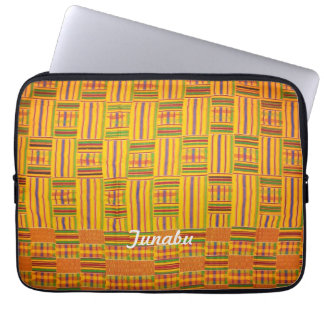 Kente Cloth 13 inch Laptop Case