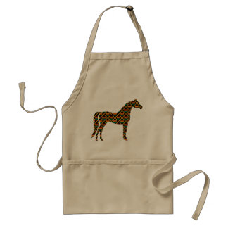 Kente Cloth Horse Standard Apron
