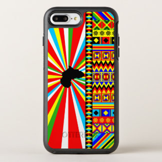 Kente Cloth Pattern African Print OtterBox Symmetry iPhone 8 Plus/7 Plus Case