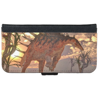 Kentrosaurus dinosaur - 3D render iPhone 6 Wallet Case