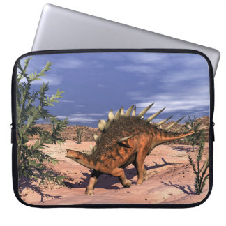 Kentrosaurus dinosaur - 3D render Laptop Sleeve