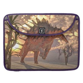 Kentrosaurus dinosaur - 3D render Sleeve For MacBooks