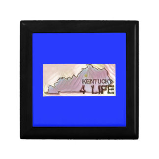 """Kentucky 4 Life"" State Map Pride Design Gift Box"