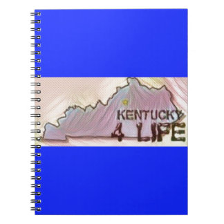 """""""Kentucky 4 Life"""" State Map Pride Design Notebooks"""