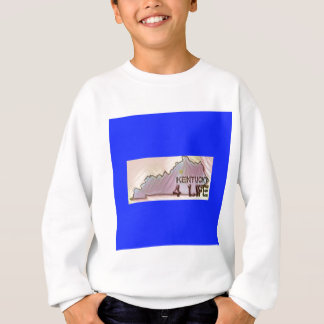 """Kentucky 4 Life"" State Map Pride Design Sweatshirt"