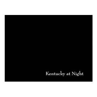 Kentucky at Night Postcard