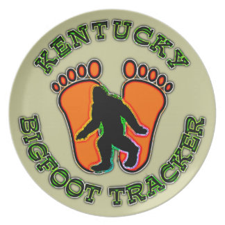 Kentucky Bigfoot Tracker Plate