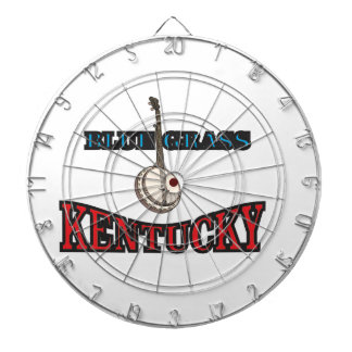 Kentucky Bluegrass art Dartboard