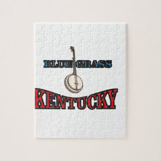 Kentucky Bluegrass art Jigsaw Puzzle