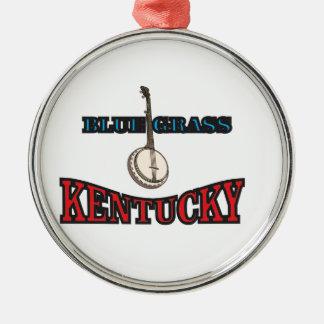 Kentucky Bluegrass art Metal Ornament