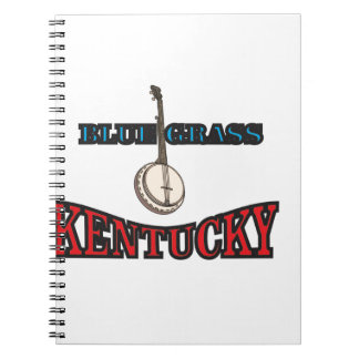 Kentucky Bluegrass art Notebook