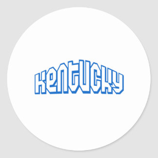 Kentucky Classic Round Sticker